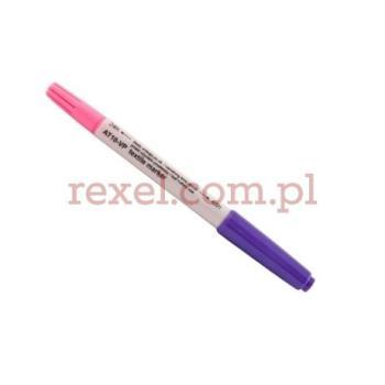 Pisak znikający fioletowo-różowy