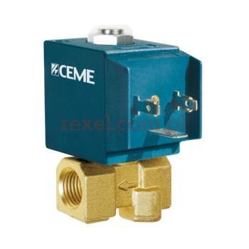 """COMEL elektrozawór przelotowy CEME 6610, 1/4"""", AC 12V"""
