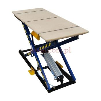 Stół tapicerski - standard blat z wykładziną, wymiary blatu 2000 mm x 900 mm