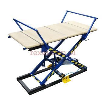 Stół tapicerski z ramionami bez blatu