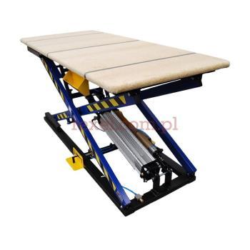Stół tapicerski z kontrolerem hydraulicznym