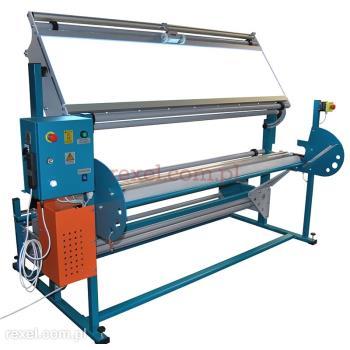 Przewijarko-przeglądarka do tkanin