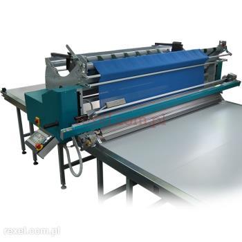 Lagowarka półautomatyczna do tkanin