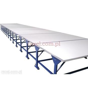 Stół krojczy z blatem dł. 16,0 m