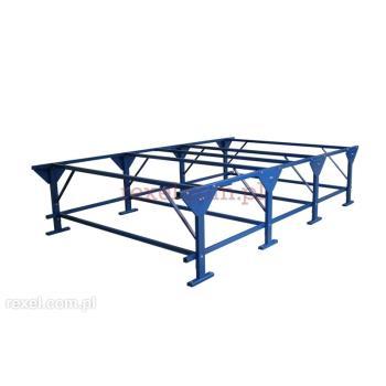 Konstrukcja stołu krojczego dł. 13,8 m