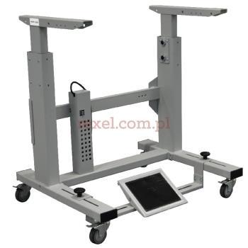 Podstawa przemysłowych maszyn do szycia (elektryczny, kółka)