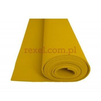 Pianka silikonowa żółta SFRG 185 6mm 150cm