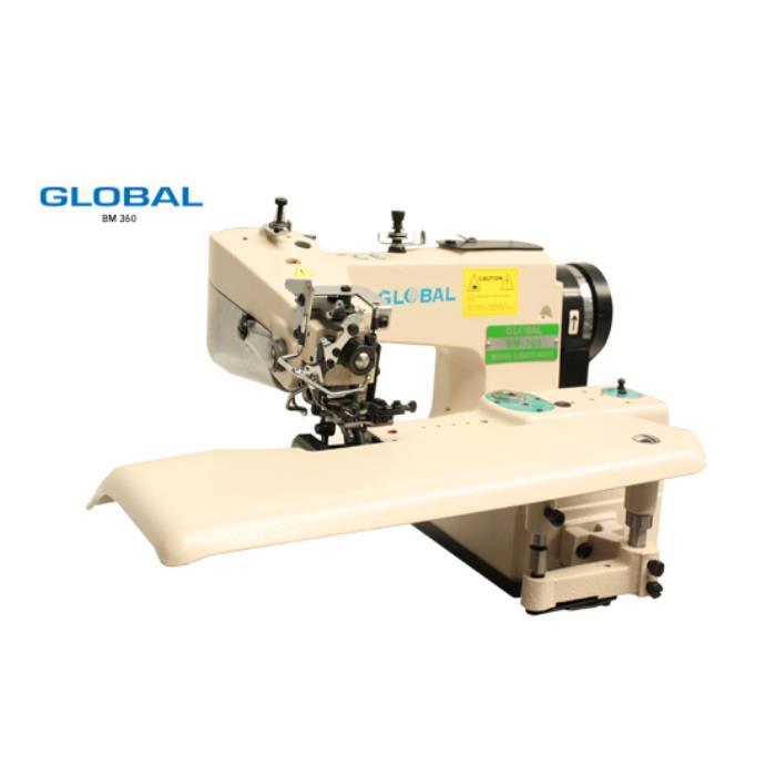 GLOBAL BM 360 Maszyna szwalnicza - podszywarka