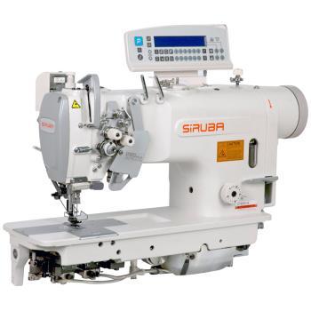 Maszyna szwalnicza 2-igłówka z automatyką bez wyłączanych igieł do średnio ciężkiego szycia
