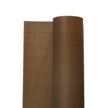 Tkanina teflonowa brązowa bez kleju gr.0,13mm szerokość 1000mm