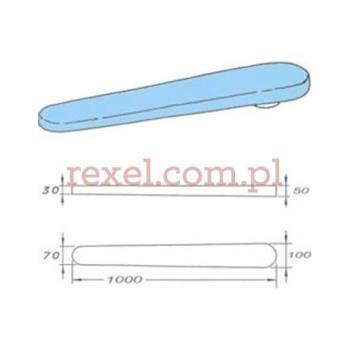 COMEL prasulec 1000 mm podgrzewany elektrycznie z pokrowcem