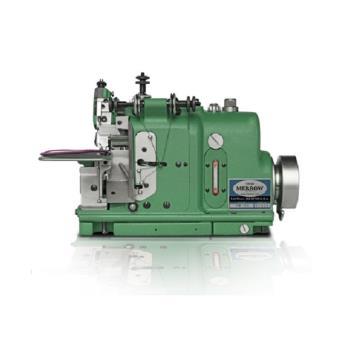 Maszyna szwalnicza-overlock do obrzucania emblematów, naszywek
