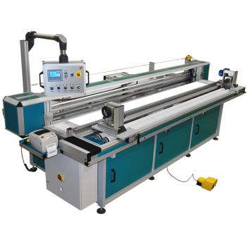 Przewijarko-przeglądarka do tkanin roletowych