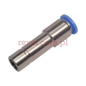 Złącze proste z wtyczką redukcyjną 10mm na wąż 6mm