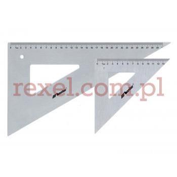 Przymiar - trójkąt aluminiowy 60/50cm