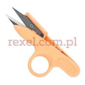 Nożyczki do nitek pomarańczowe