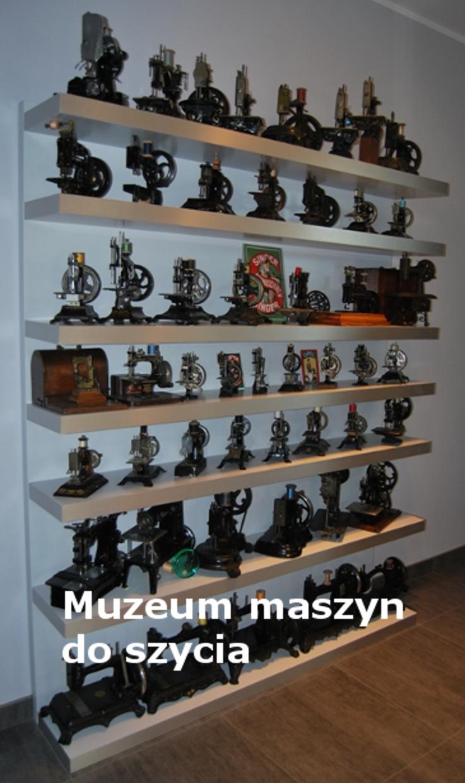 Nasze muzeum maszyn do szycia.